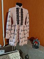 Святкова дитяча сукня на кнопках комірець стійка 128