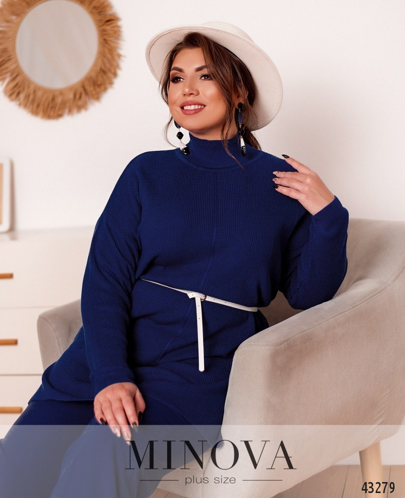 Женский свитер батал размер: 50-56