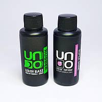 База и Топ каучуковые для ногтей UNO по 50 мл