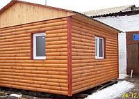 Дачний будиночок економ з блокхаус 4,5 м х 4,0 м, фото 1