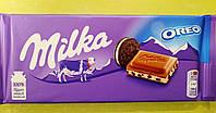 Шоколад Milka з печивом Oreo молочний 100 г