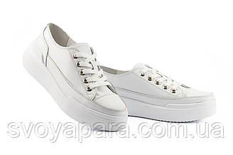 Женские кеды кожаные весна/осень белые Brand All Star 151