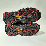 Зимние мужские теплые кожаные ботинки на меху Черные, фото 8
