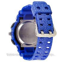 Часы наручные синие Casio Baby-G GA-110 Jeans-Blue / касио джишок синие, фото 3
