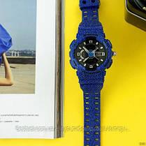 Годинники наручні сині Casio Baby-G GA-110 Jeans-Blue / касіо джишок сині, фото 2
