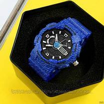 Годинники наручні сині Casio Baby-G GA-110 Jeans-Blue / касіо джишок сині, фото 3