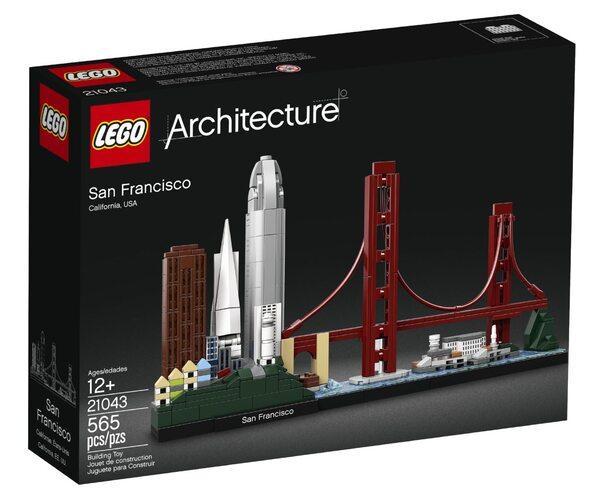 Lego Architecture Сан Франциско