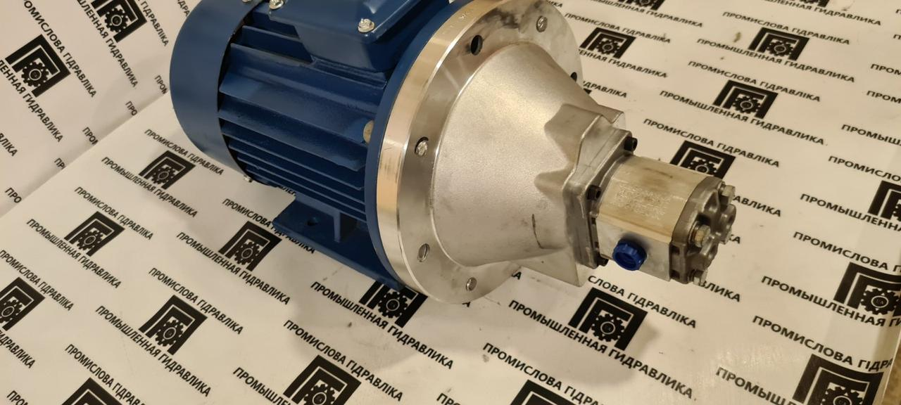 Насосная установка ПГ-4,2/2.2-1500, агрегат насосный 6 л/мин, 200 бар 2,0кВт (аналог насоса Н400Е, Н400У)