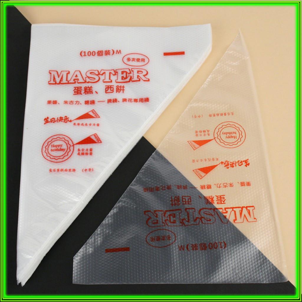 Мешок кондитерский одноразовый L34см  ширина 24см /цена за 100шт