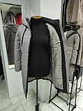 """Довга зимова куртка пальто """"Багіра"""", розмір 56, фото 6"""