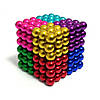 Головоломка ,Неокуб Игрушка NEO CUB цветной 216 шариков 5мм