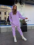 Теплый женский спортивный костюм с объемным худи AL 39-578, фото 3