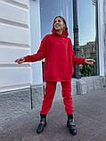 Теплый женский спортивный костюм с объемным худи AL 39-578, фото 2