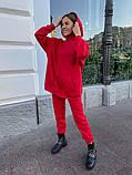 Теплый женский спортивный костюм с объемным худи AL 39-578, фото 6