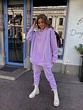 Теплый женский спортивный костюм с объемным худи AL 39-578, фото 9