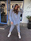 Теплый женский спортивный костюм с объемным худи AL 39-578, фото 7