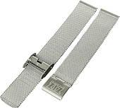 Ремешок для часов ZIZ из нержавеющей стали (серебро) (4700088)