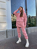 Теплый женский спортивный костюм с карманом кенгуру AL 39-580, фото 6