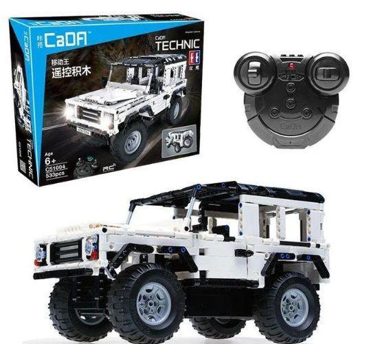 Радиоуправляемый конструктор CaDa Technic Джип 533 детали, арт.C51004W