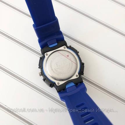 Годинники наручні чорні Casio G-Shock MTG-G1000B Black-Blue Wristband / касіо джишок чорні з синім, фото 2