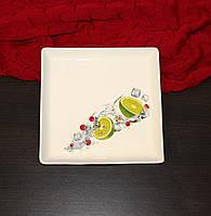 Тарелка для суши лайм 19 см
