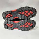 Зимние мужские кожаные ботинки на меху Черные (Большие размеры), фото 8