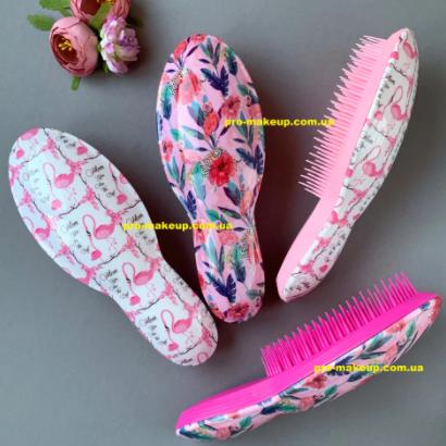 Расческа для волос женская Flamingo and Flowers