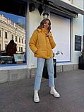Женская куртка с капюшоном на змейке 39-913, фото 5