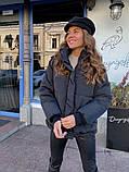 Женская куртка с капюшоном на змейке 39-913, фото 8