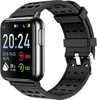 Розумні годинник Lemfo V5 з вимірюванням тиску та ЕКГ (Чорний)