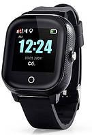Дитячі смарт-годинник Lemfo DF50 Ellipse Aqua з GPS трекером (Чорний)