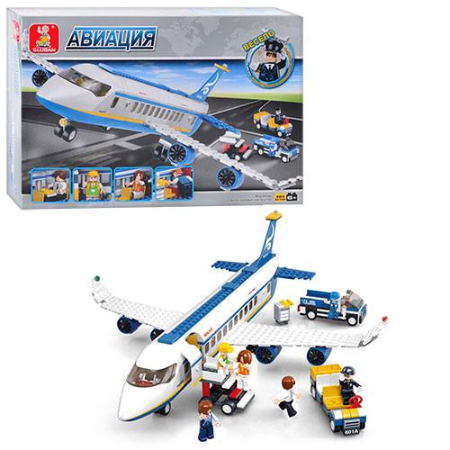 "Конструктор Sluban M38-B0366 ""Аеробус"", 463 деталей."