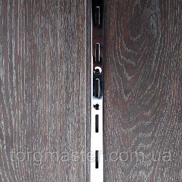 Рейка (перфопрофиль) одинарная хромированная 190см