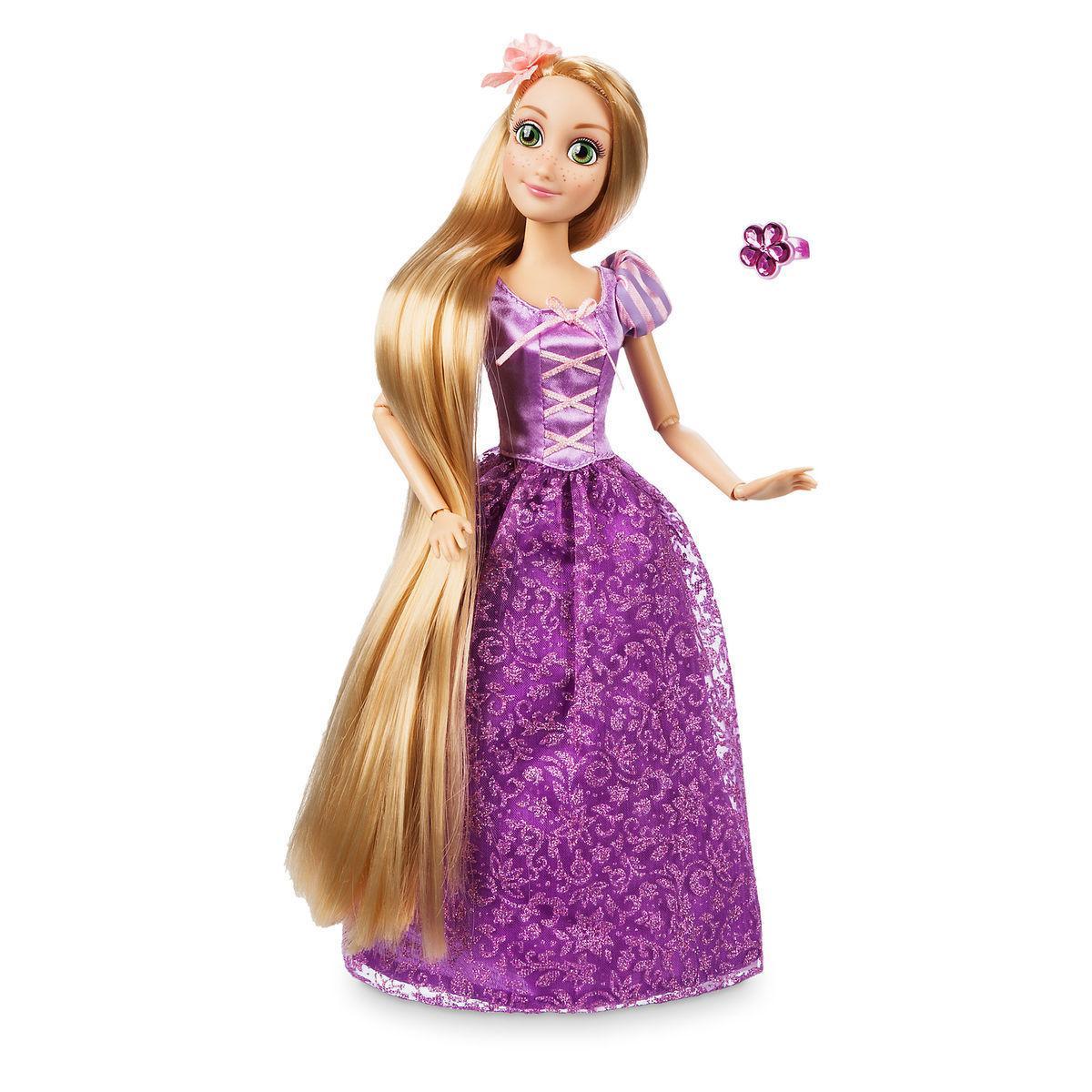 Кукла Рапунцель классическая с кольцом