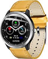 Умные часы Lemfo N58 с измерением давления и ЭКГ (Коричневый), фото 1