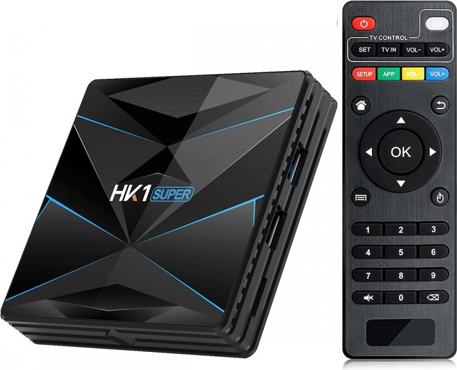 Медиаплеер приставка Android TV Box HK1 SUPER 3GB/32GB