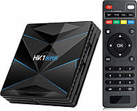 Медиаплеер приставка Android TV Box HK1 SUPER 3GB/32GB, фото 1
