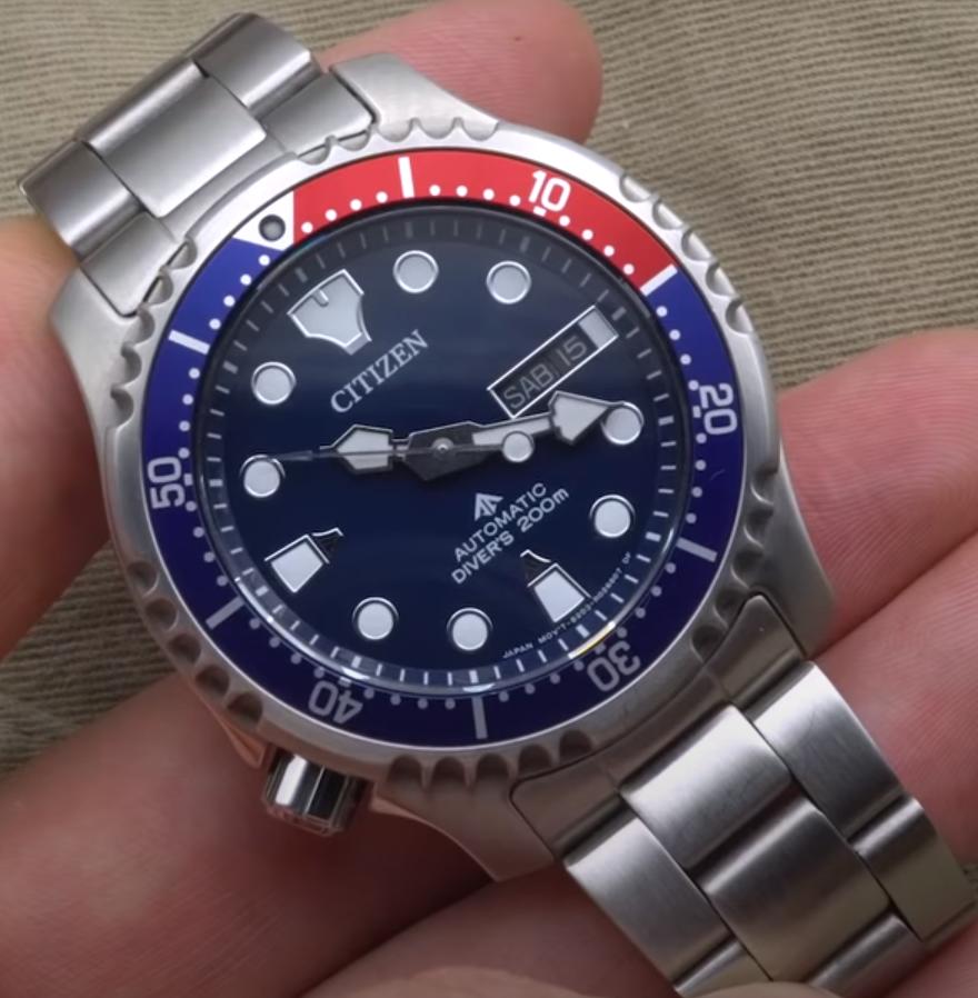Годинник Citizen Promaster NY0086-83L Automatic Diver's 8203.