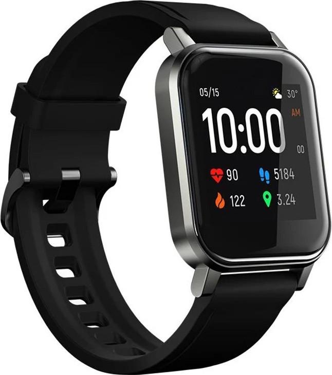 Умные часы Haylou LS02 с измерением пульса (Черный)