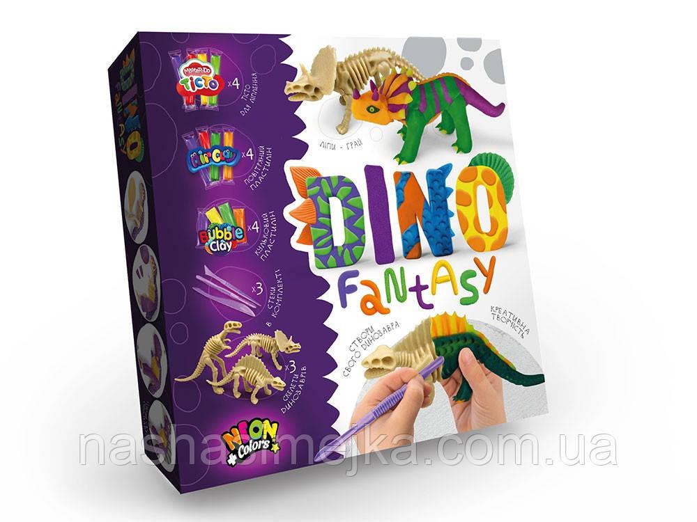 «Dino Fantasy» - створи свого унікального динозавра! (Danko Toys)