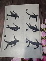 Вафельная картинка на торт футбол
