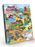 Набір для ігор, творчості та дослідів Dino Land 7в1 (Динозаври) (Danko Toys), фото 2