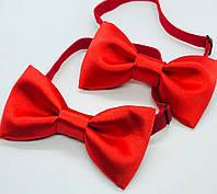Краватка - метелик для хлопчика Метелик карнавальний чоловічий Метелик кольоровий Мемелик червоний