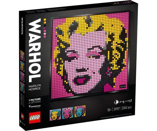 Lego Art Мерилін Монро Енді Уорхола