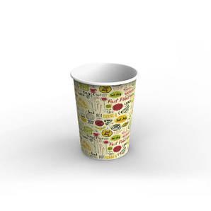 Емкость стакан для супа и первых блюд, снеков и фри 1Л Светлый 115/90х155 мм 50 шт