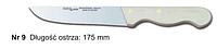 Нож № 9 обвалочный для мяса 175 мм