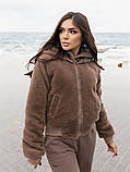Двусторонняя женская куртка-бомбер, фото 6