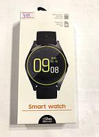 Смарт часы Phone Y11 Black BT 4.0 / Android 4.4, iOS 8.0/G-датчик/1.3 inch