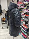 """Подовжена зимова куртка """"Бонні"""", фото 4"""