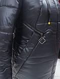 """Подовжена зимова куртка """"Бонні"""", фото 8"""